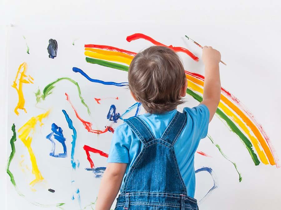 Taller de pintura para niños en Málaga